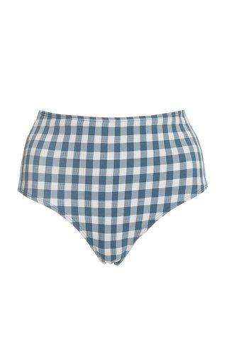 Bonnieux Gingham Bikini Bottom
