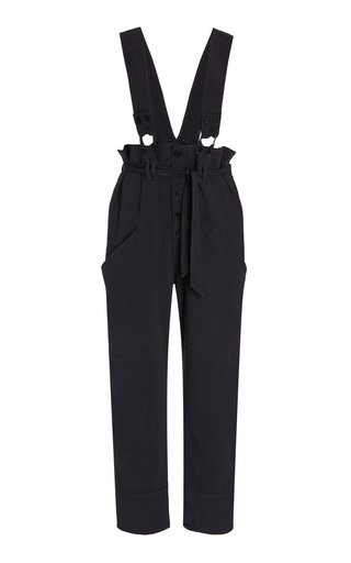 Fineba Crepe Wide-Leg Pants