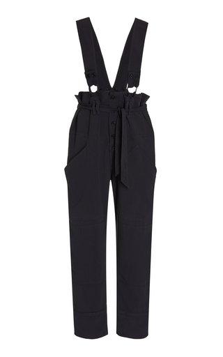 Fineba Crepe Wide-Leg Pants