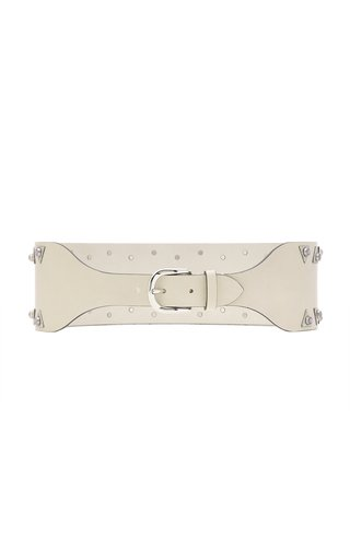 Woma Studded Leather Belt