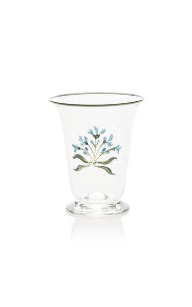 Exclusive Painted Murano Wine Glass