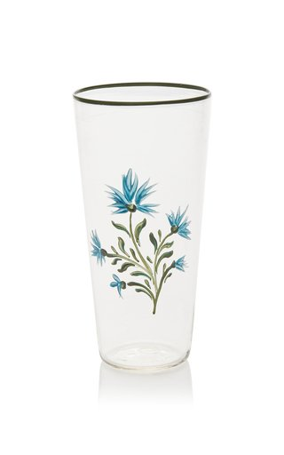 Exclusive Painted Murano Glass Tumbler