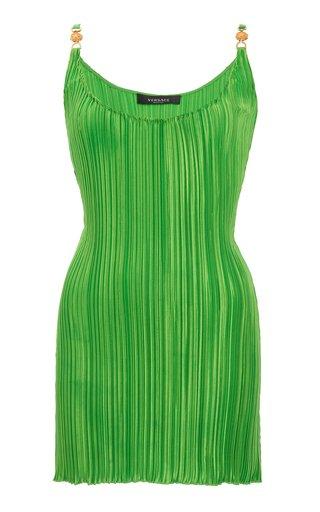 Plisse Mini Dress