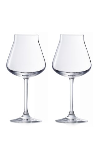 Set-Of-Two Château Baccarat Red Wine Glasses