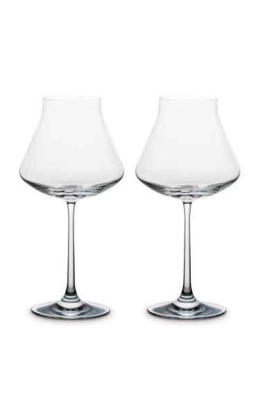 Set-Of-Two Château Baccarat XL Wine Glasses