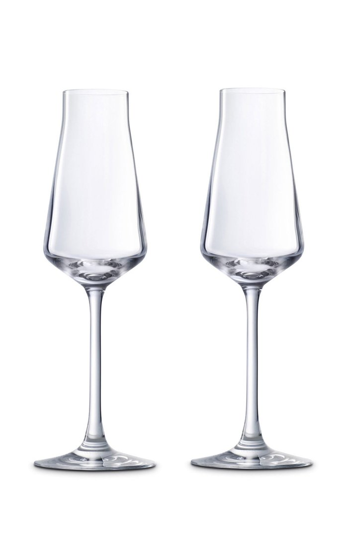 Set-Of-two Château Champagne Flutes