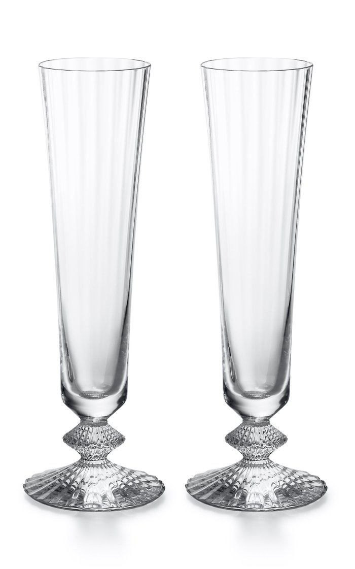 Set-Of-Two Mille Nuits Champagne Flutes