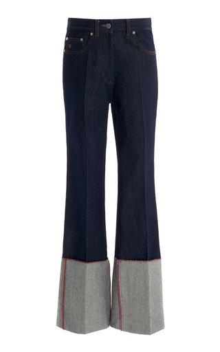 Vintage-Inspired Straight-Leg Jeans