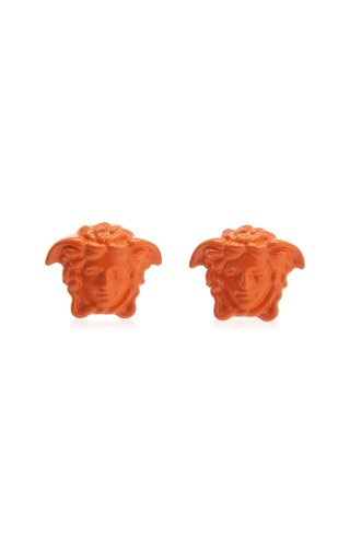 Medusa Painted Stud Earrings