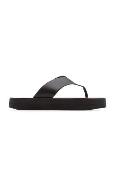 Melitto Leather Slides