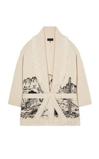 The Shaded Canyon Handmade Embroidered Icon Cardigan