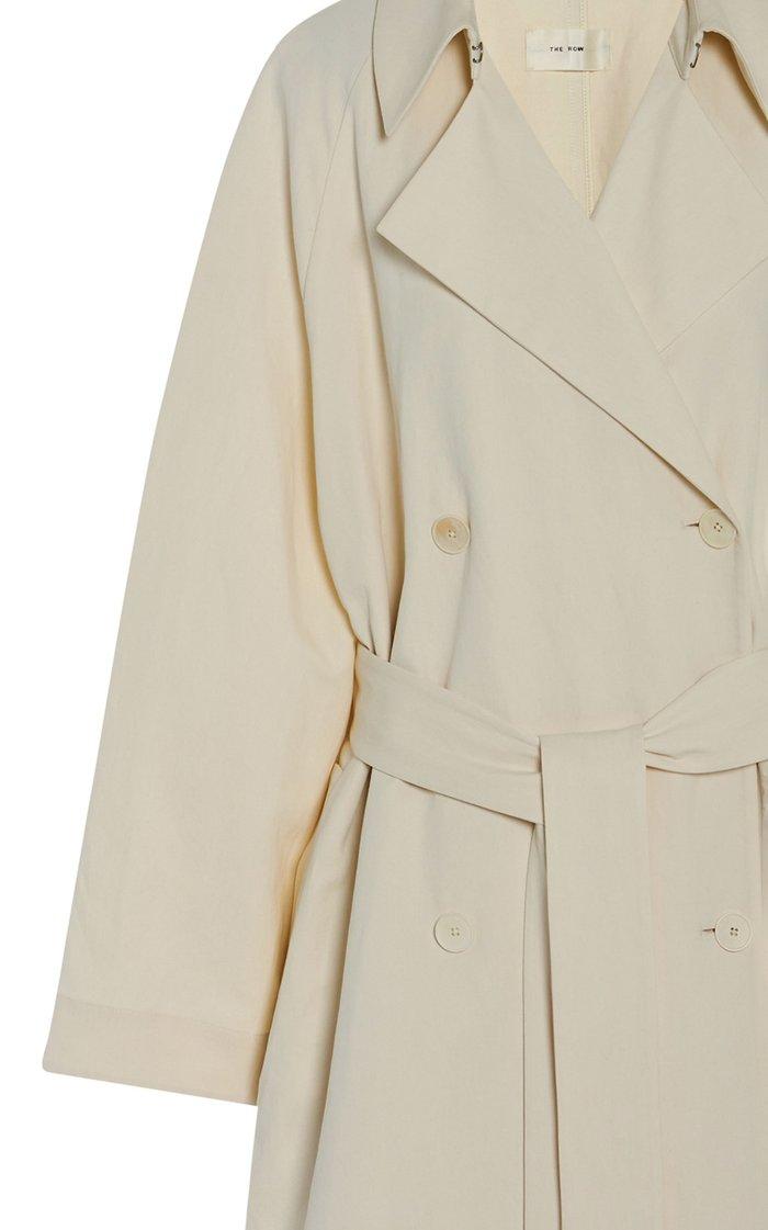 Oswin Cotton-Linen Coat