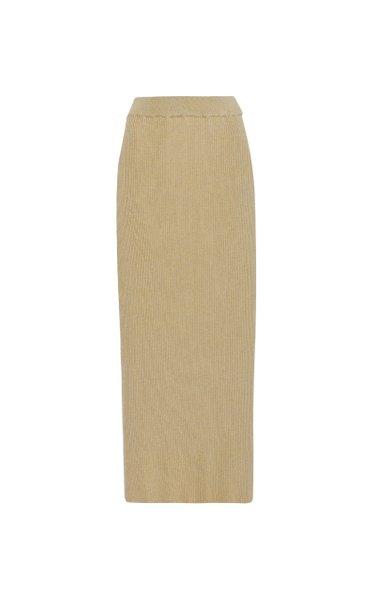Cannia Silk-Cotton Skirt