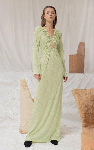 Désobéir Knit Long Dress