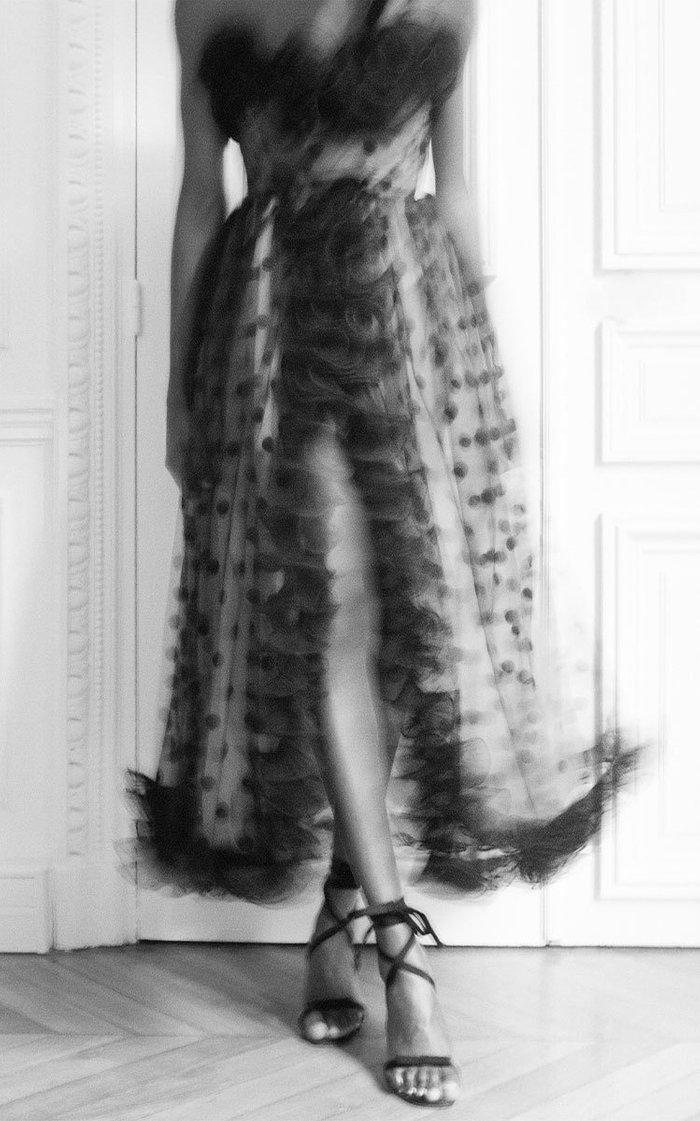 Polka Dot Tulle Dress