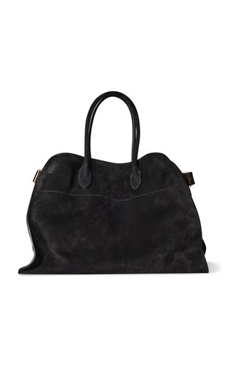 Soft Margaux 17 Suede Top Handle Bag
