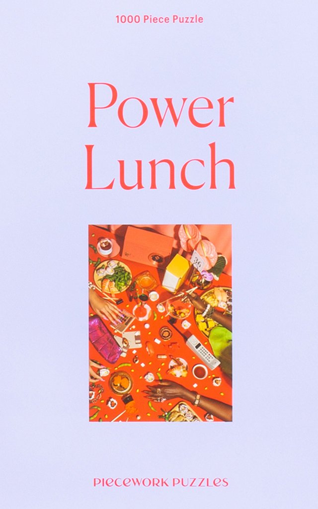 Power Lunch 1000 Piece Jigsaw Puzzle