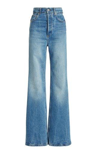 Rigid High-Rise Bootcut Jeans