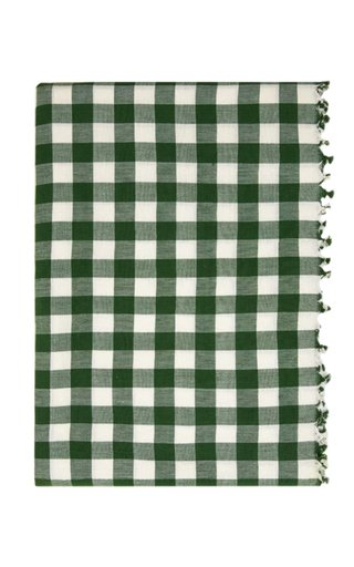 Gingham Hunter Tablecloth