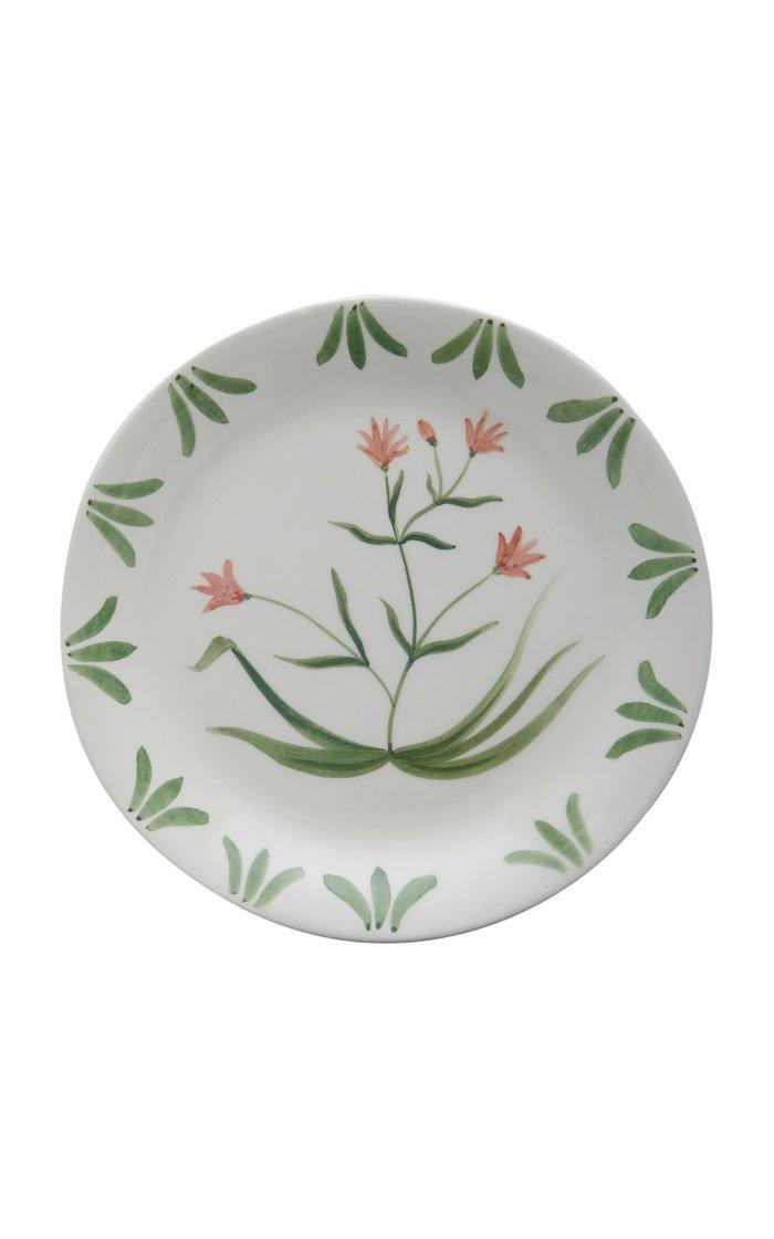 Exclusive Set-Of-Six Painted Ceramic Salad Plates