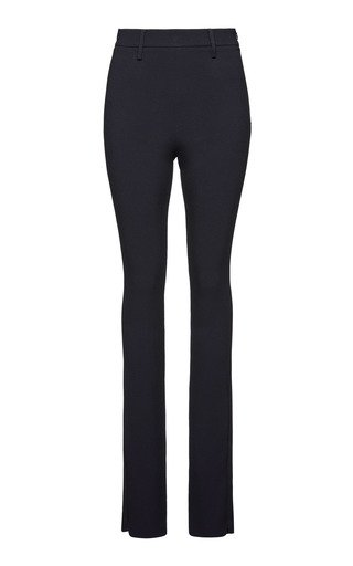 Flared Stretch-Jersey Pants