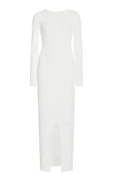 Celle Reversible Knit Midi Dress