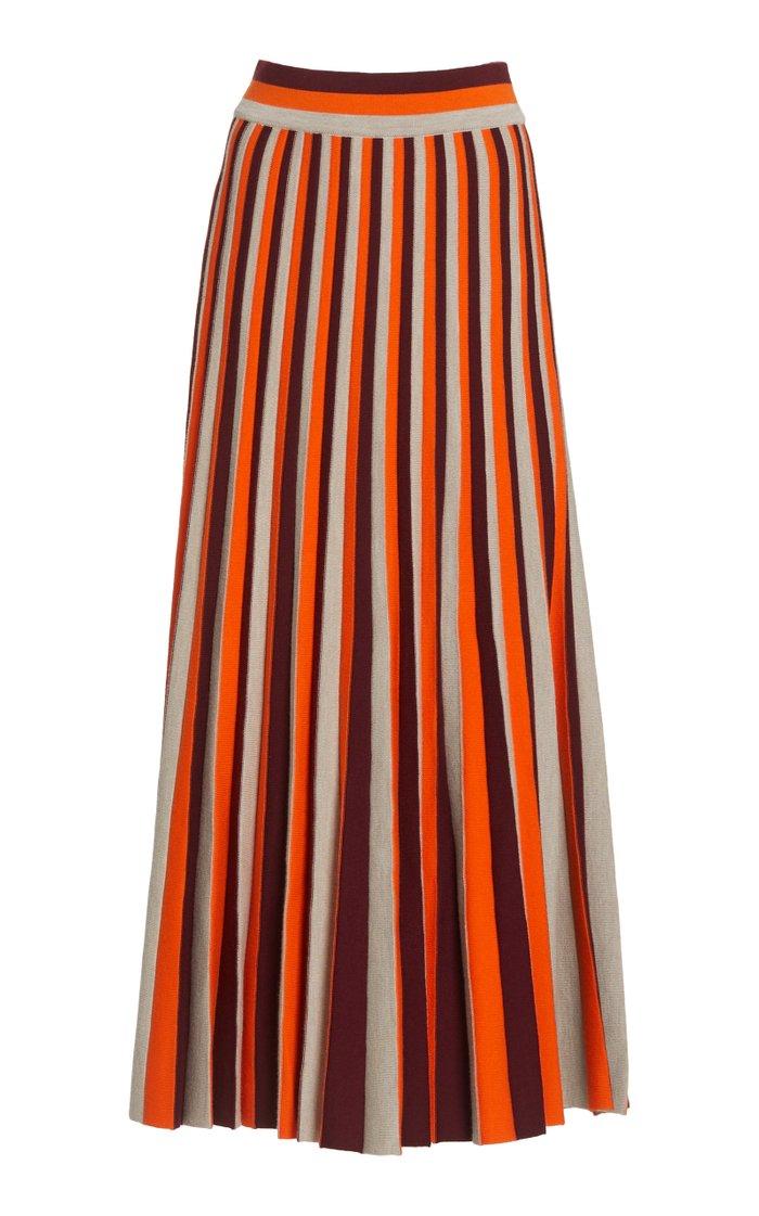 Dixie Merino Wool Knit Skirt