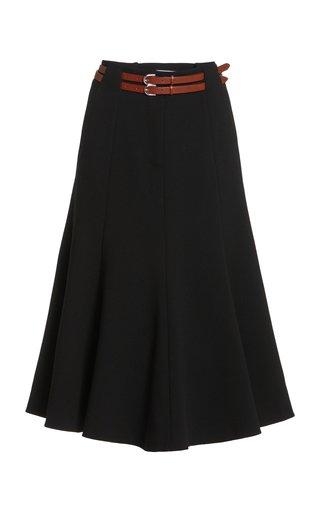 Max Woven Wool Skirt