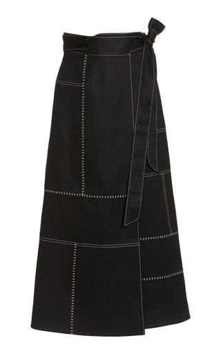 Alex Woven Linen Skirt