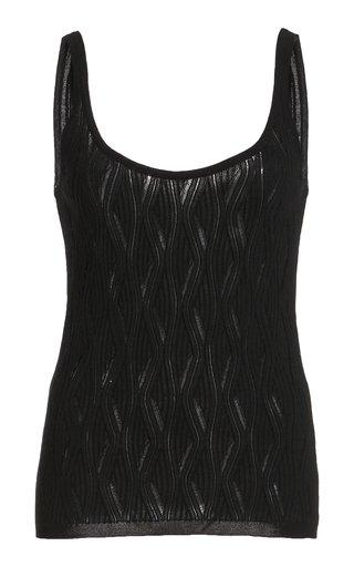 Hurwitz Cashmere-Silk Knit Top