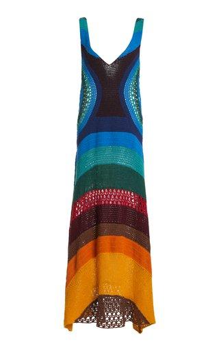 Ocon Striped Cashmere Knit Dress