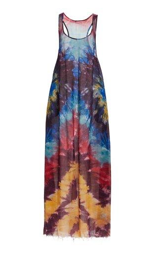 Niki Tie-Dye Cashmere Knit Dress