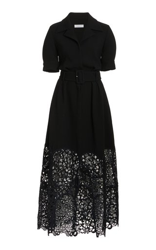Sega Woven Wool Dress