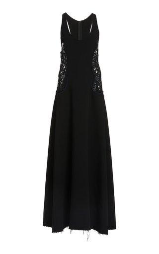 Gene Wool Maxi Dress