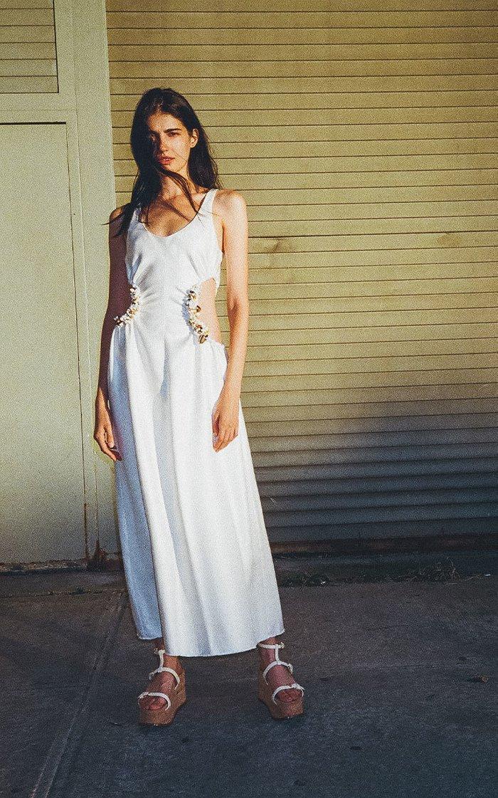 Sergey Upcycled Silk Maxi Dress