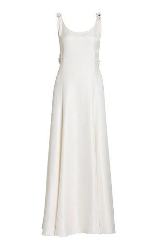 Haring Upcycled Silk Maxi Dress