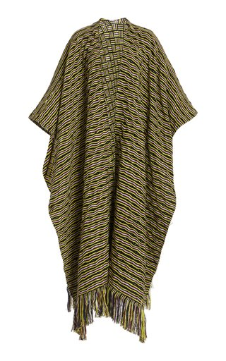 Gasly Cashmere Knit Poncho