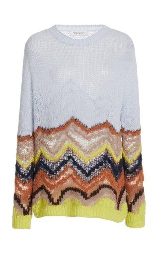 Felipe Cashmere-Silk Knit Sweater