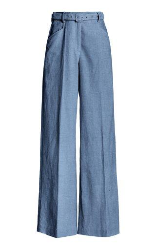 Norman Linen-Cotton Pants