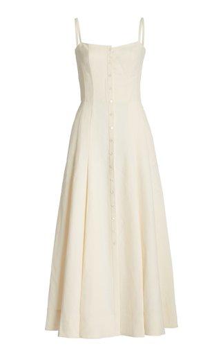 Mallya Upcycled Linen-Silk Dress