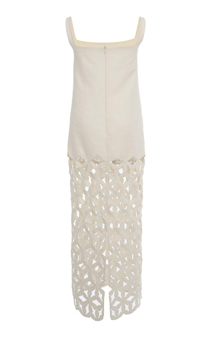 Hand Stitched Hemp Dress