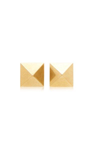 Valentino Garavani Gold-Tone Rockstud Earrings