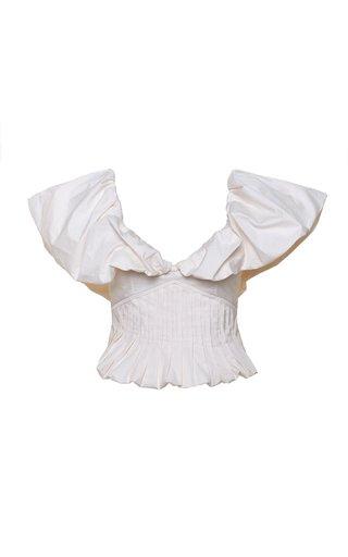 Intellectual Femme Cotton Poplin Top