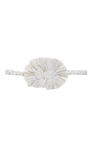 Gautama Medium Raffia Waist Belt