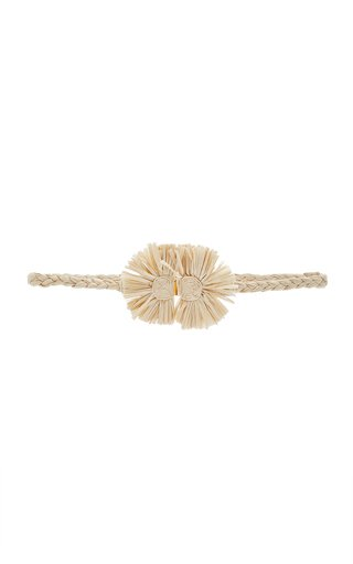 Gautama Medium Raffia Waist Belt