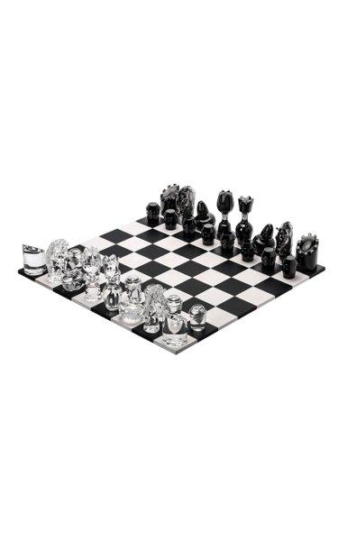 Jeu Flannel-Grey Wood ,Chess Set