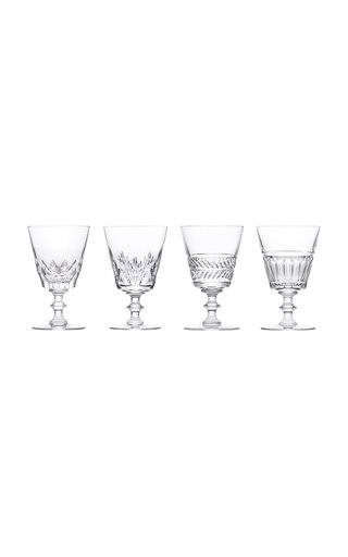 Queens' Hall, 4 Glasses N°2 Set