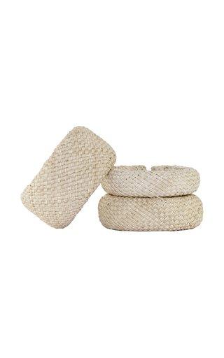 Dynamic Culture Palm Of Iraca Bracelet Set