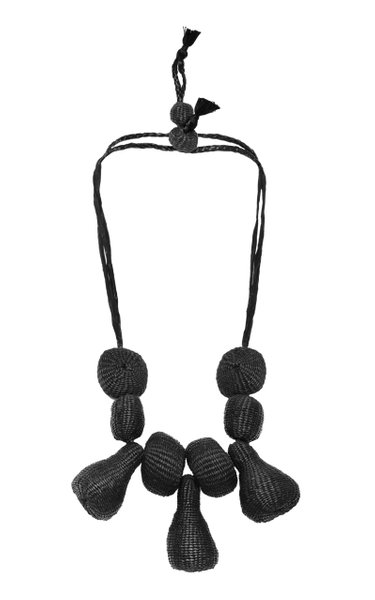 Tree Of Life Palm Of Iraca Statement Necklace