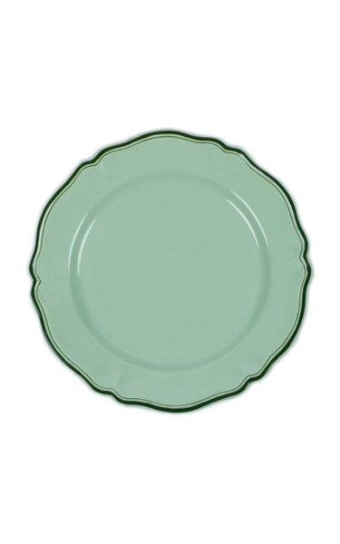 Moda Domus, Hand-Painted Ceramic Serving Plate